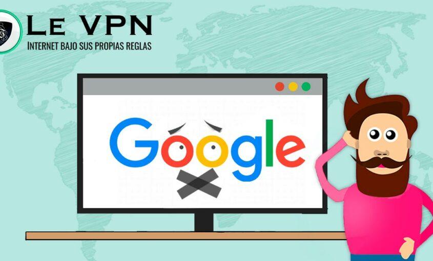 Privacidad en internet para tus productos de Google.   Le VPN