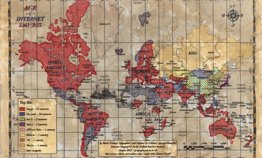 Mapa Mundial De Los Sitios Web Más Visitados | Le VPN