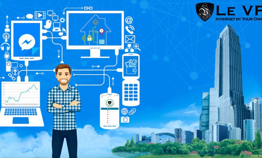 Seguridad en Internet: La mente humana conectada a las máquinas. | Le VPN