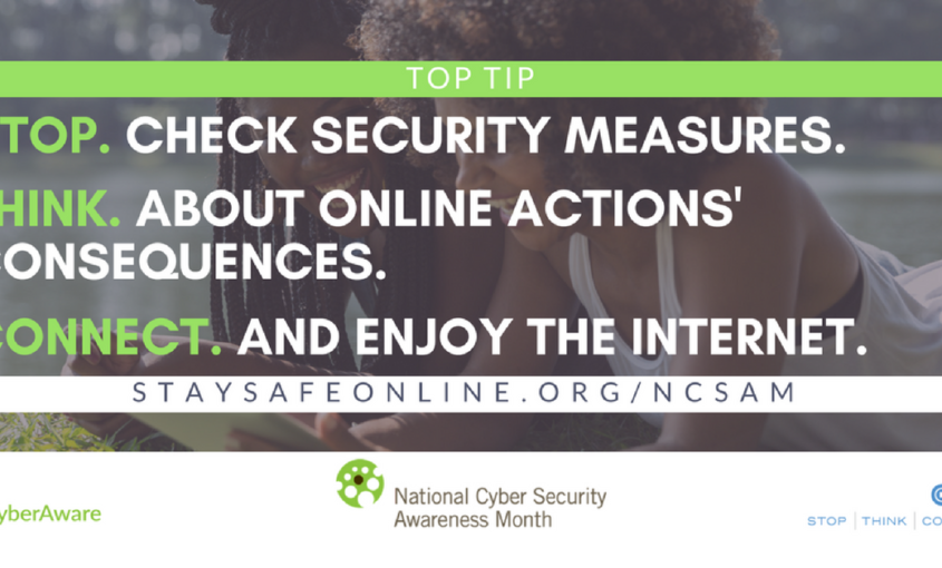 El mes de la seguridad cibernética: semana 1.
