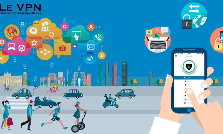 Seguridad Online: redes existentes y su seguridad.   Le VPN