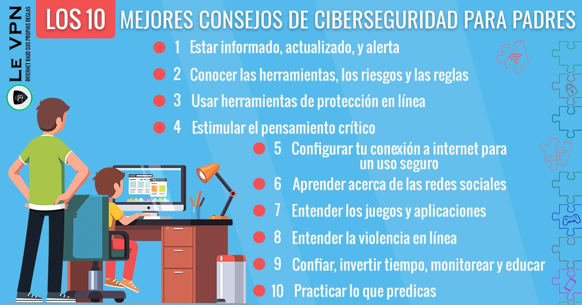 Los 10 Mejores Consejos De Ciberseguridad Para Padres