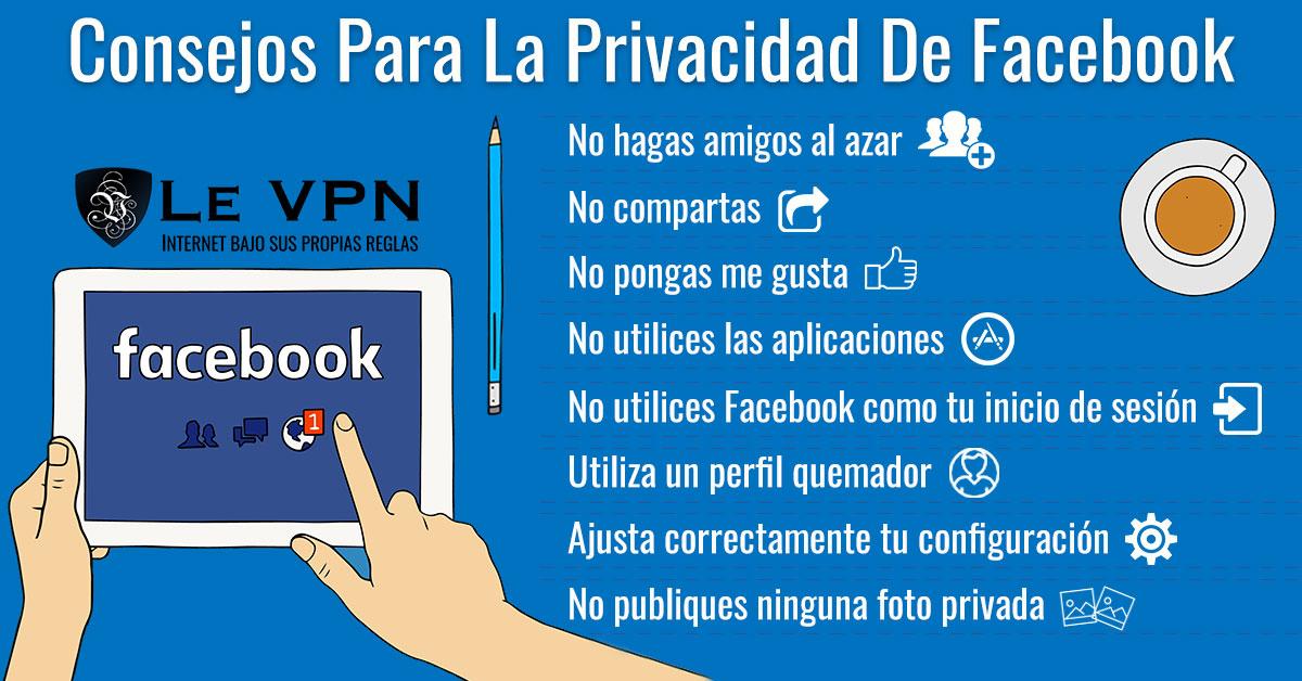 Seguridad En Las Redes Sociales: Cuenta De Facebook Segura | Le VPN