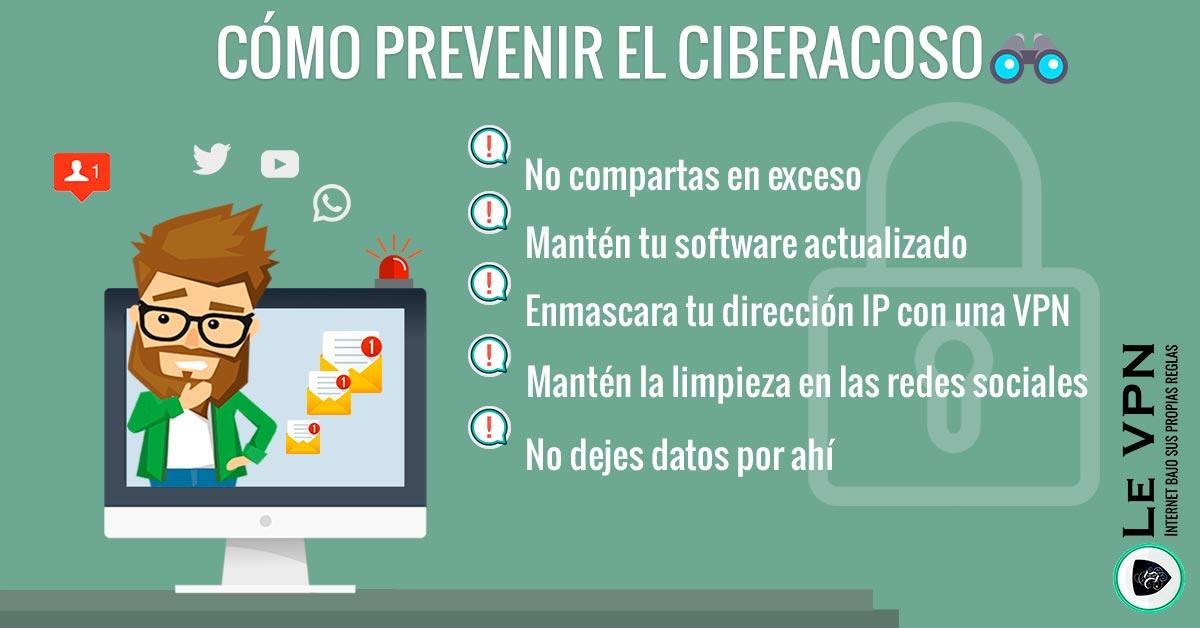 Cyberstalking: ¿Cómo prevenirlo? ¿Qué hacer al ser acosado?   Le VPN