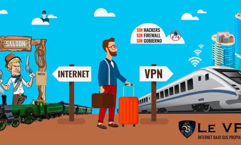 Cómo evitar las amenazas a la seguridad con una VPN. | Le VPN