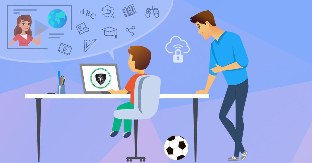 Las clases virtuales no solo son riesgosas para la salud mental de los padres