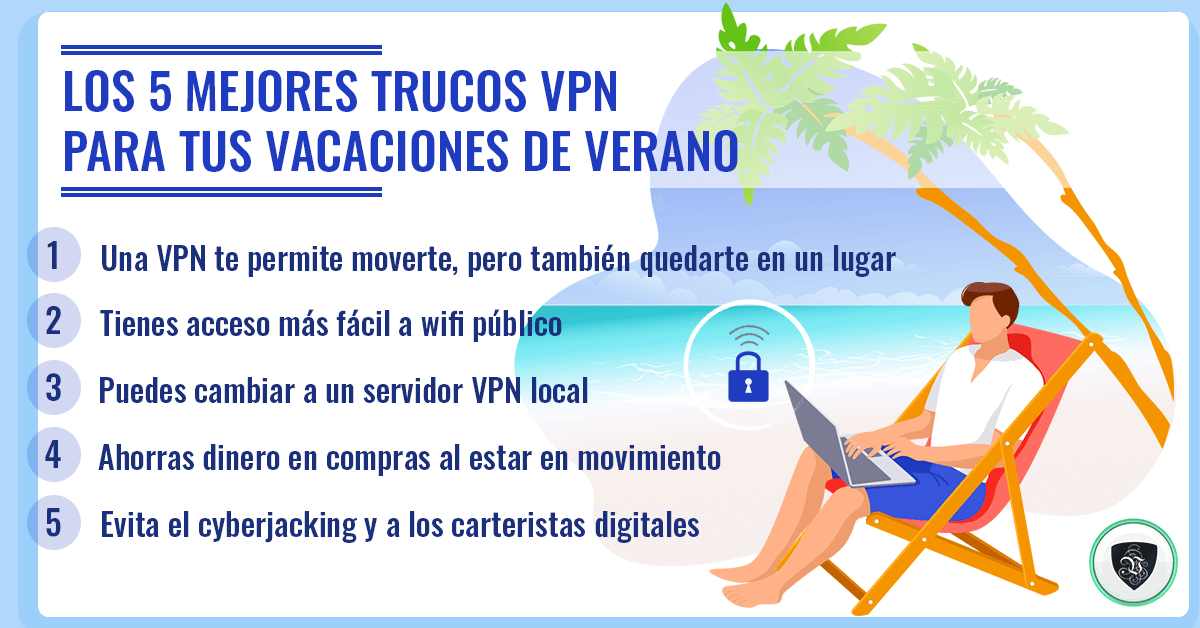 Los 5 Mejores Trucos VPN para Tus Vacaciones de Verano