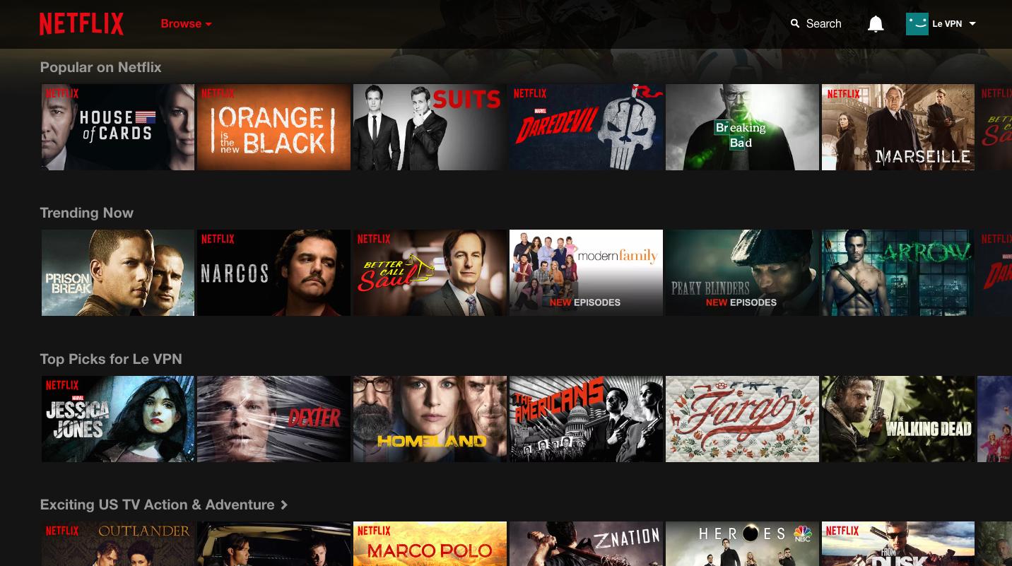 Netflix: Système de recommandation personnalisé. | Le VPN