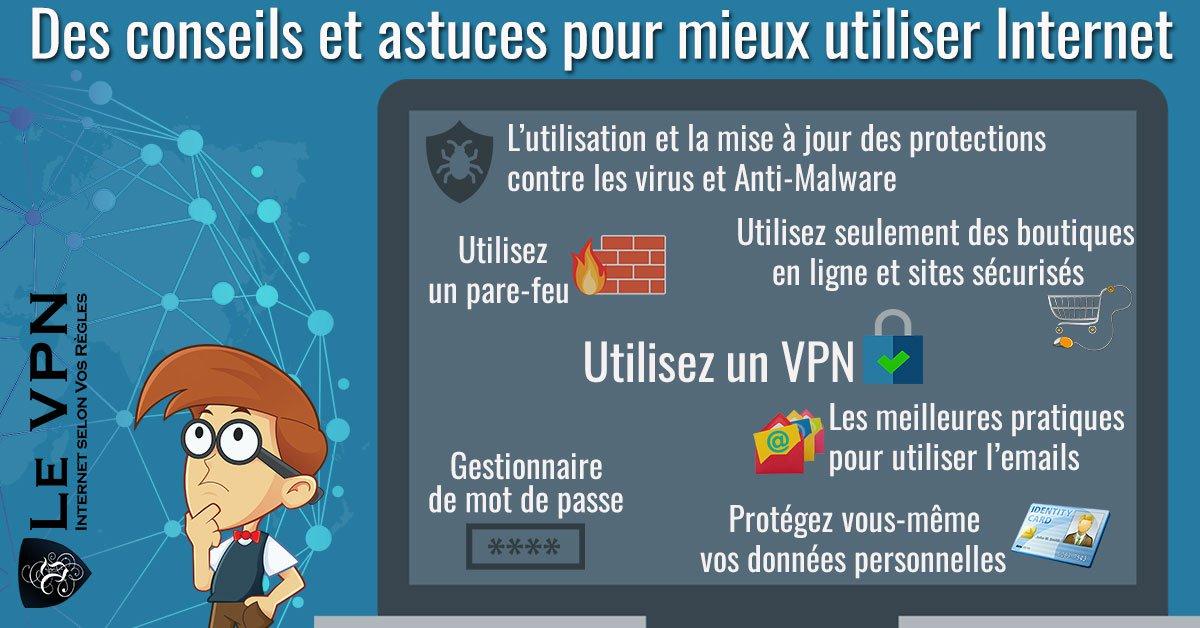 Des conseils et astuces pour mieux utiliser Internet   Astuces sur Internet   Le VPN