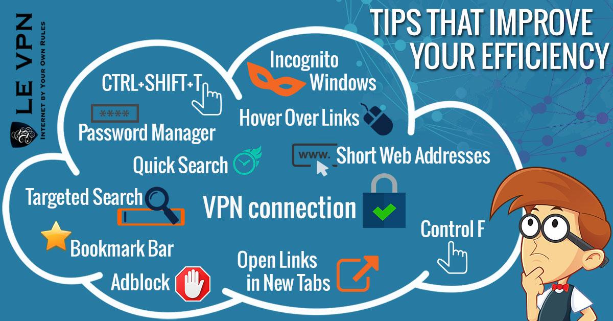 Comment faire pour améliorer votre efficacité quand vous êtes sur Internet   Astuces sur Internet   Le VPN