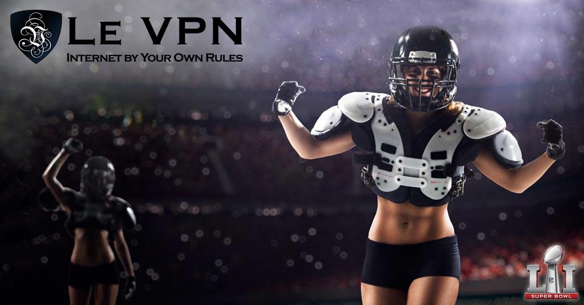 Comment suivre Super Bowl en direct en dehors des Etats-Unis? | Le VPN