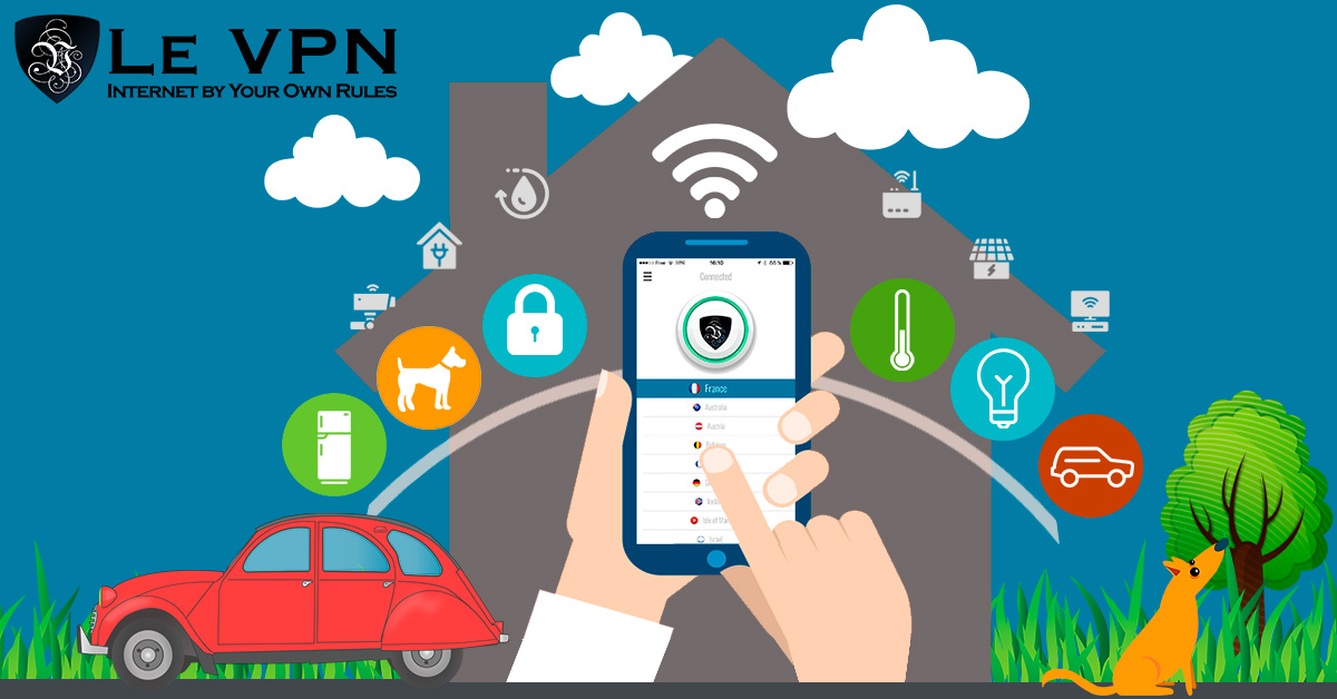 VPN pour les objets connectés: la meilleure sécurité IoT