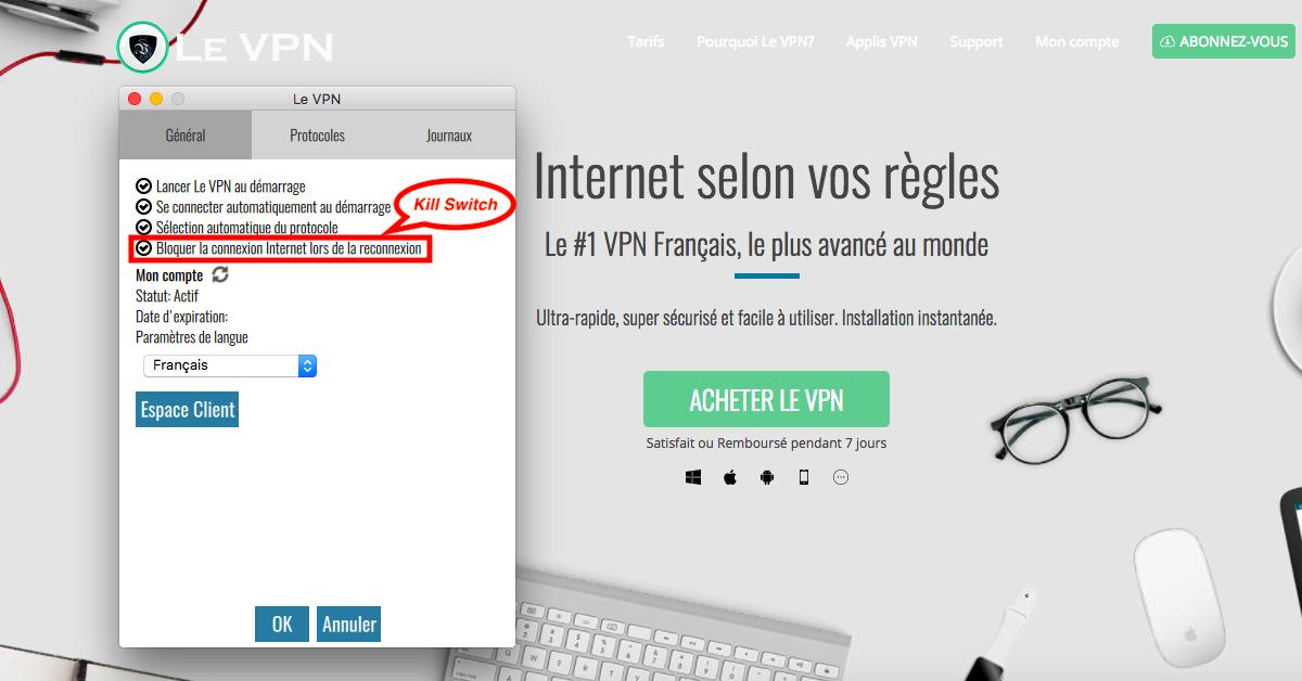 Kill Switch VPN : qu'est-ce que le Kill Switch et pourquoi utiliser uniquement un VPN doté de cette fonction?