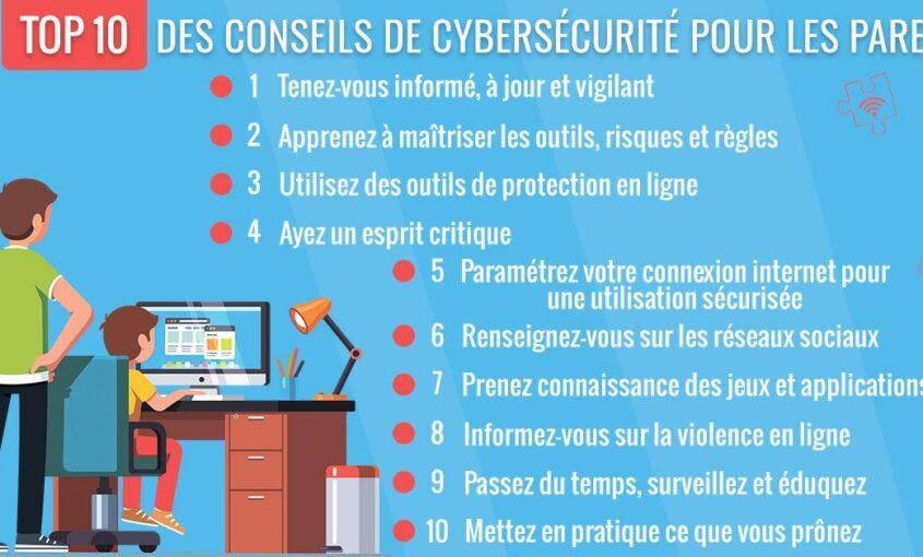 Top 10 des conseils de cybersécurité pour les parents | Cybersécurité des enfants | Le VPN