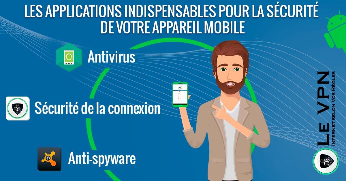 Sécurité Mobile, les Meilleures Applications Android en 2018