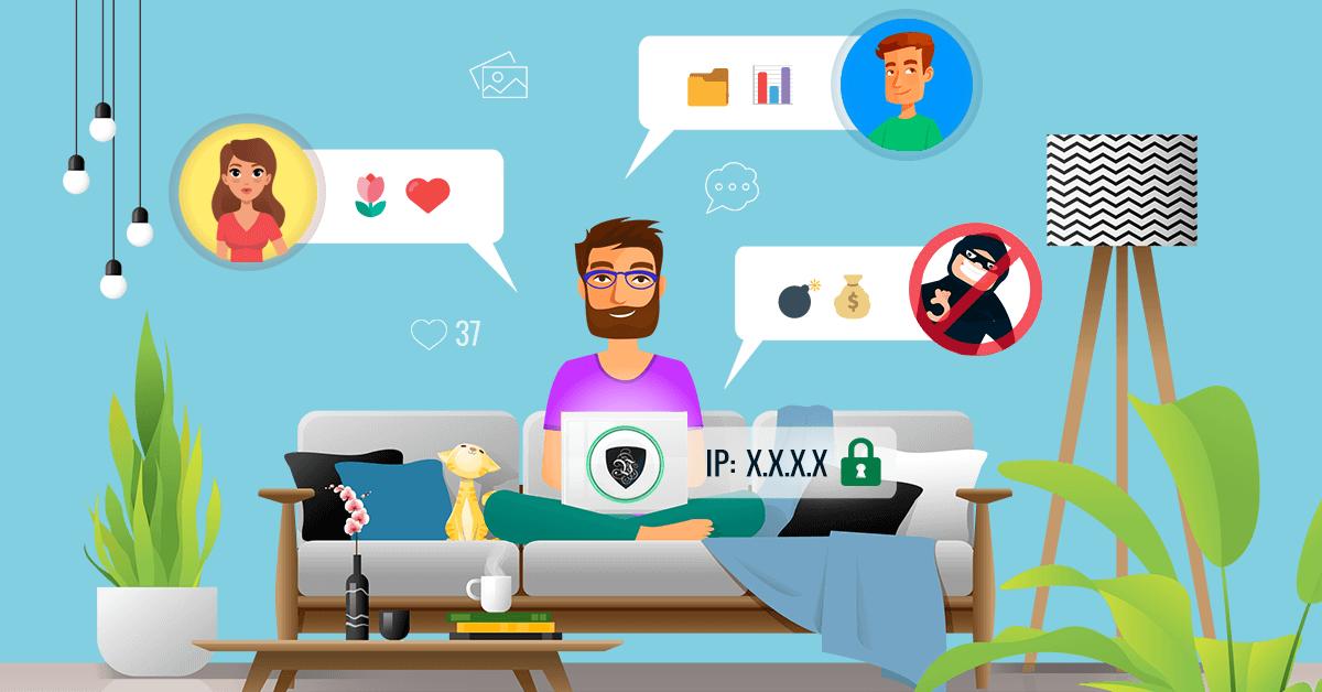 Chat en ligne : utilisez toujours une adresse IP anonyme