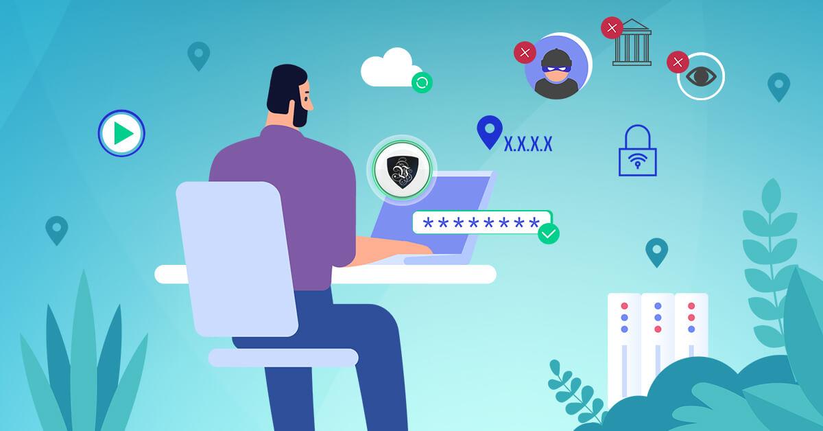 Les raisons d'utiliser un VPN en 2021.   Le VPN