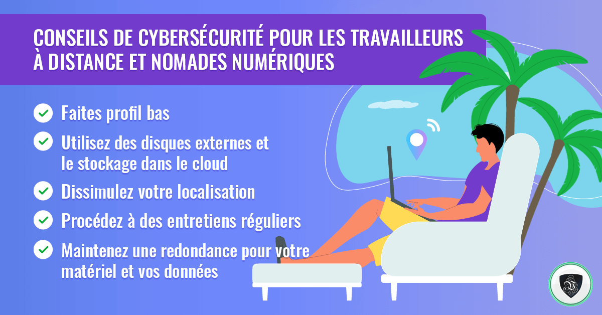 Cybersécurité pour travailleurs à distance et nomades numériques. | Le VPN
