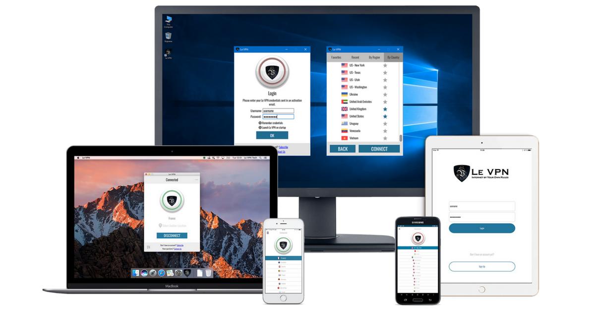 Le VPN сервис теперь на 5ти устройствах!