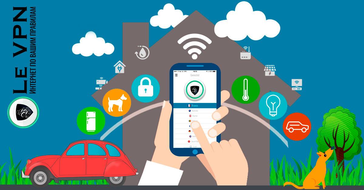 ВПН и Интернет вещей. Настройка VPN на роутере для защиты ваших подключенных устройств