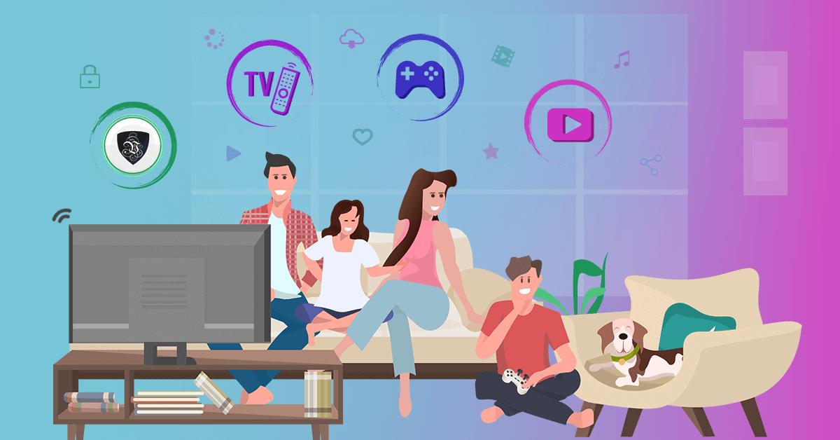 Остаться дома: просто играя в онлайн игры – победить Covid-19.