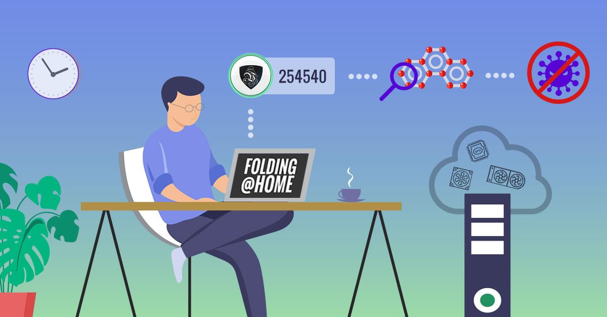 Онлайн битва против вируса COVID-19 вместе с Folding@Home