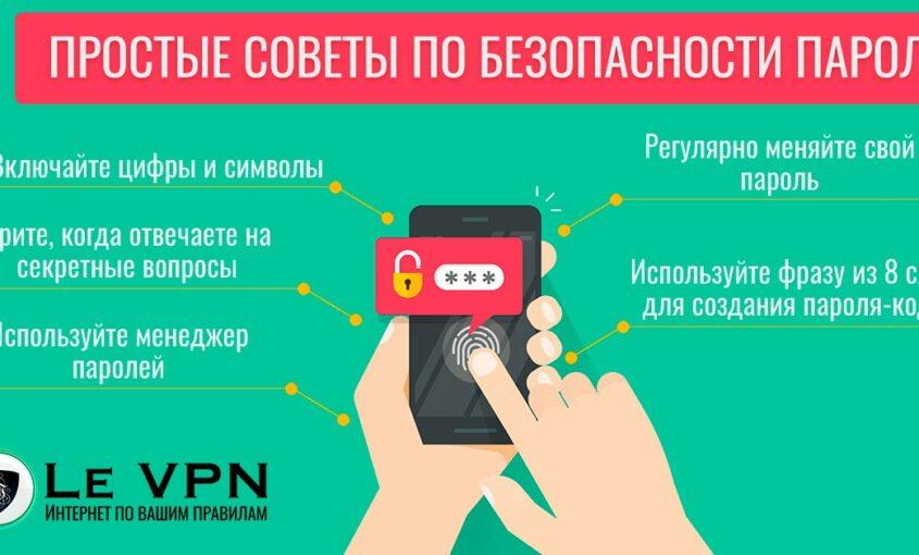 Безопасность паролей: творческий подход в создании личной системы защиты   VPN   Le VPN   ВПН