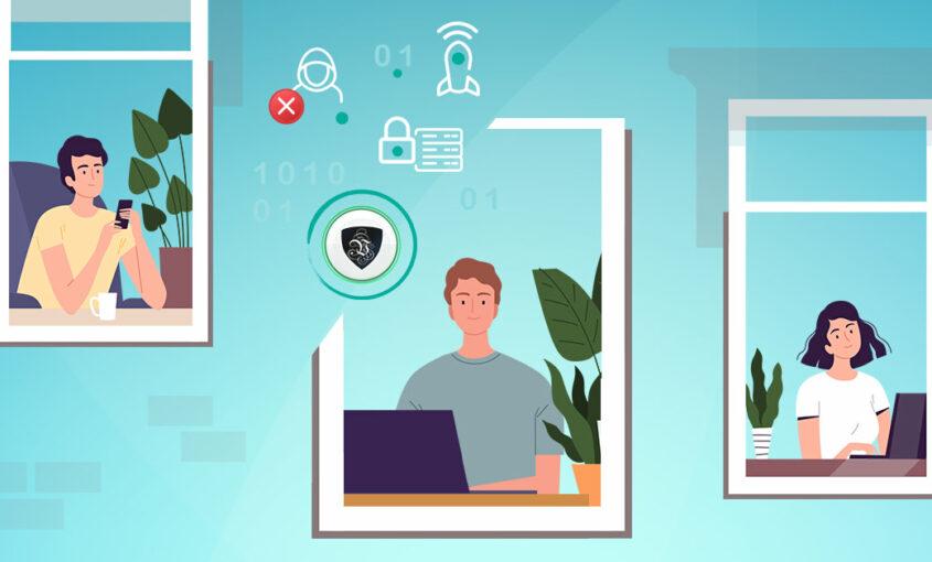 VPN для удаленной работы - важный фактор охраны труда и здоровья   Le VPN   VPN защита при удаленной работе   ВПН защита
