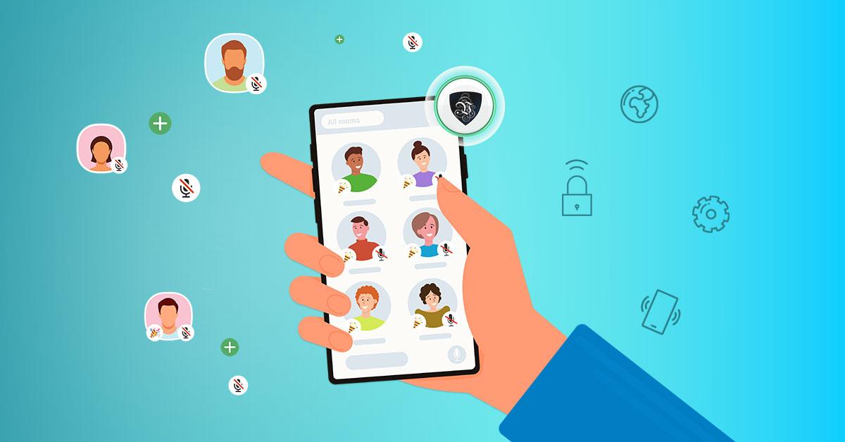 КАК УЛУЧШИТЬ CLUBHOUSE С ПОМОЩЬЮ VPN? | Le VPN | ВПН