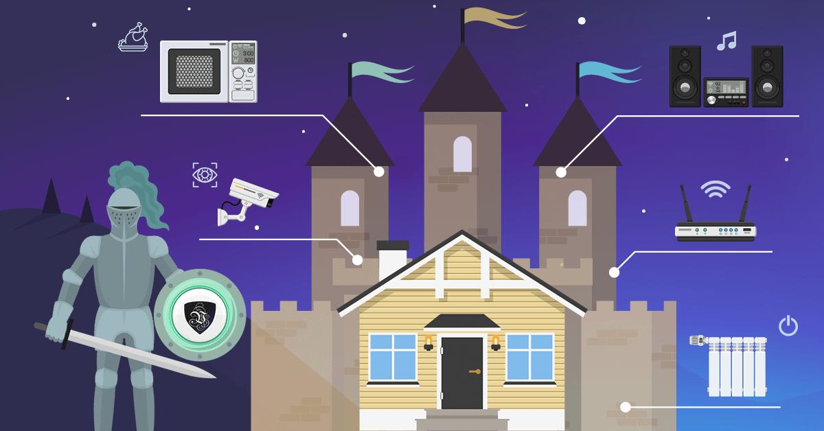 Безопасность умного дома - защищайте свой замок | VPN | кибергигиена | Le VPN | ВПН