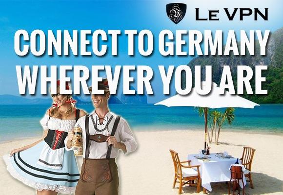 Le VPN | Germany VPN | VPN for Germany