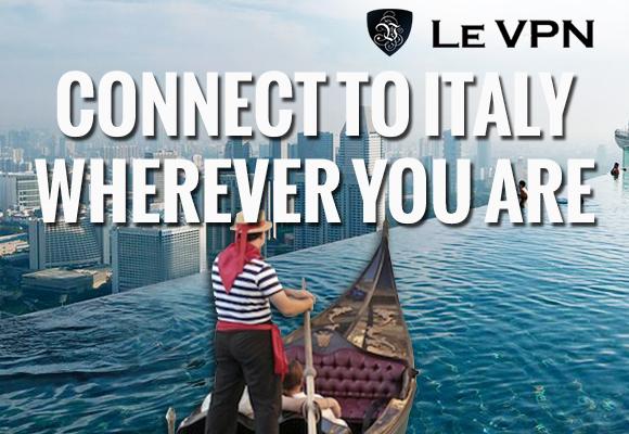 Le VPN | Italy VPN | VPN in Italy