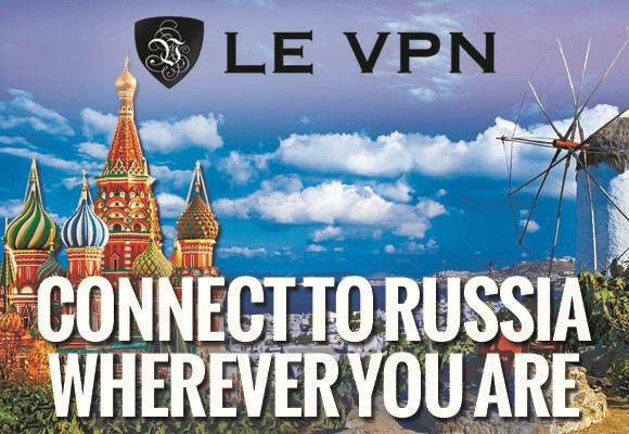 VPN in Russia | VPN for Russia | Russian IP | Le VPN