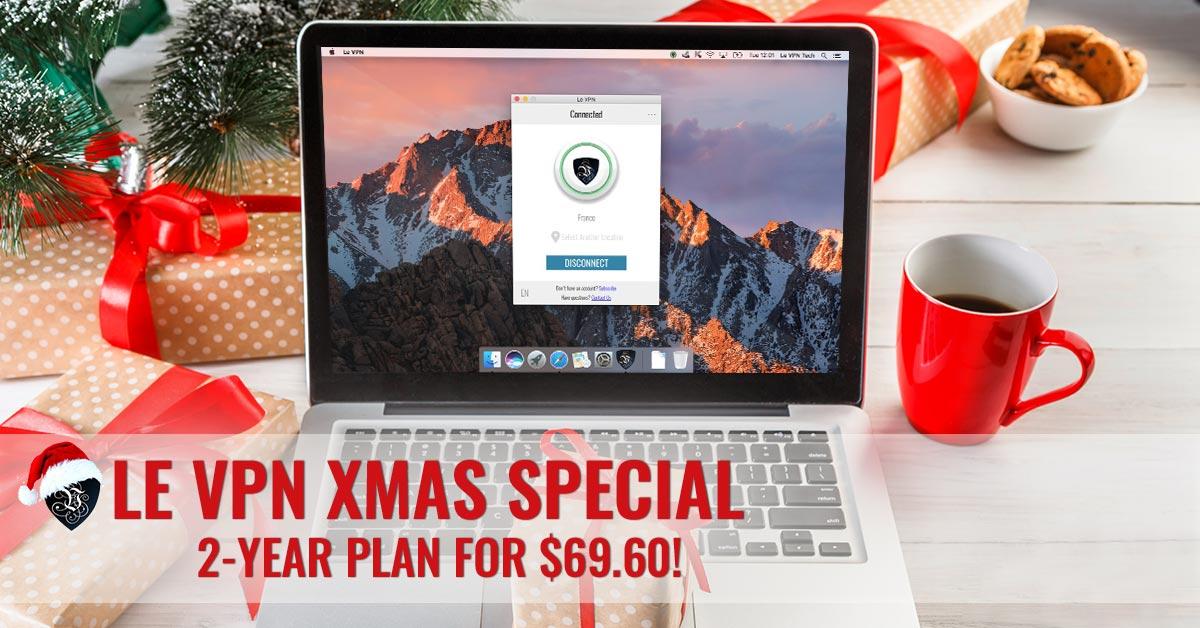 Happy Holiday season from Le VPN