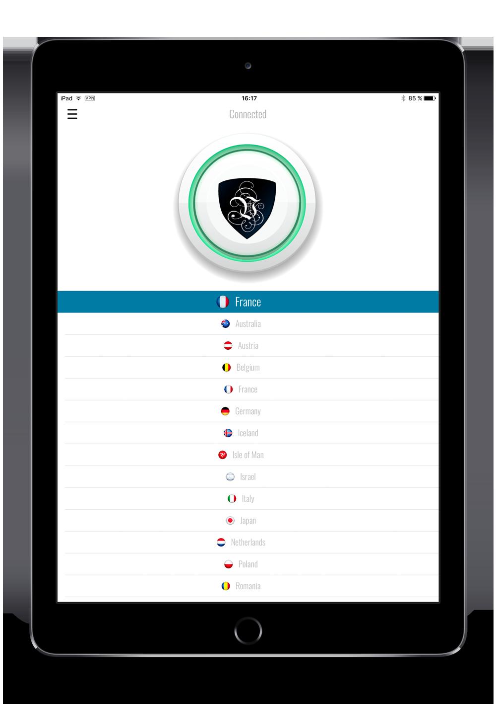 Le VPN for iPad | VPN app for iPad | The best VPN for iPad | best VPN app for iPad | VPN apps for iPad