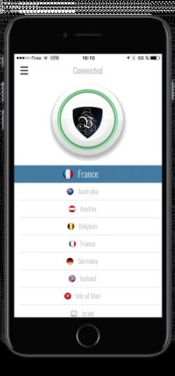 Le VPN app | VPN connected | Le VPN iOS app | VPN app for iPhone | VPN installed | Le VPN iOS app