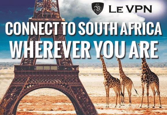 South Africa VPN | Le VPN for South Africa | VPN in South Africa