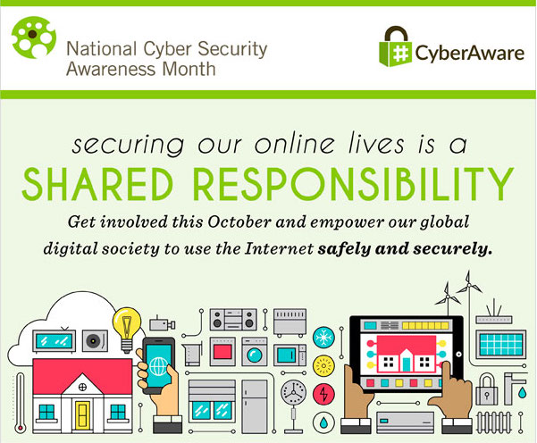 National Cyber Security Awareness Month | Internet Security | Network Security | Le VPN