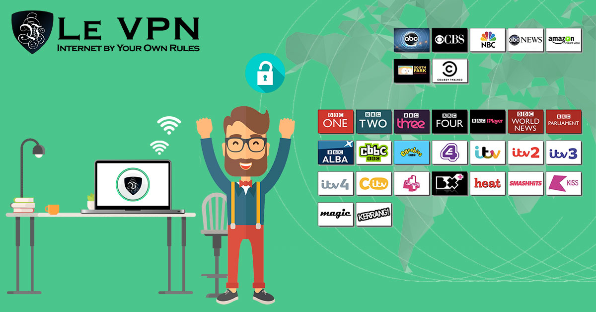 How to watch a TV channel from another country online?