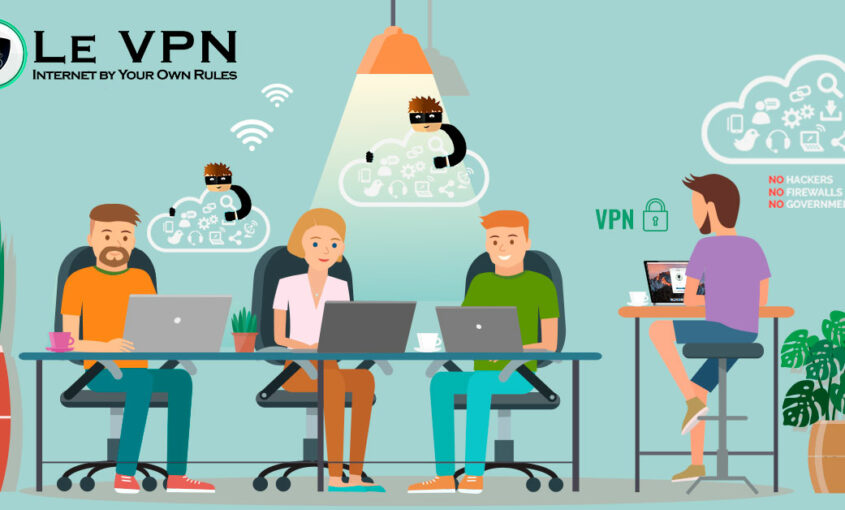 Wi-Fi with Le VPN means no risk. | Le VPN