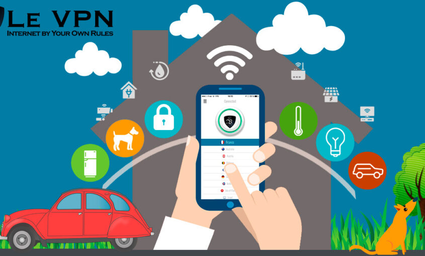 Protect your data from any spy and prying eyes.   Le VPN