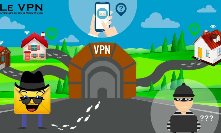 Don't let your IP address be compromised. | Le VPN