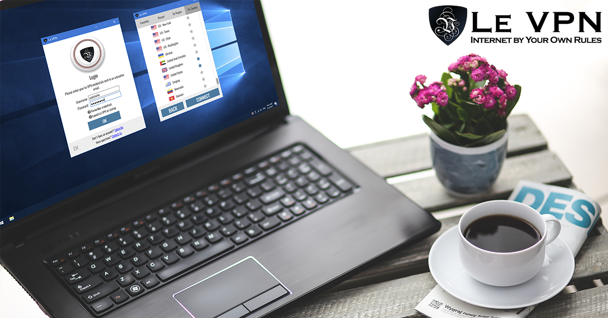 Le VPN software for Windows is now out! Try the best VPN for Windows with Le VPN!