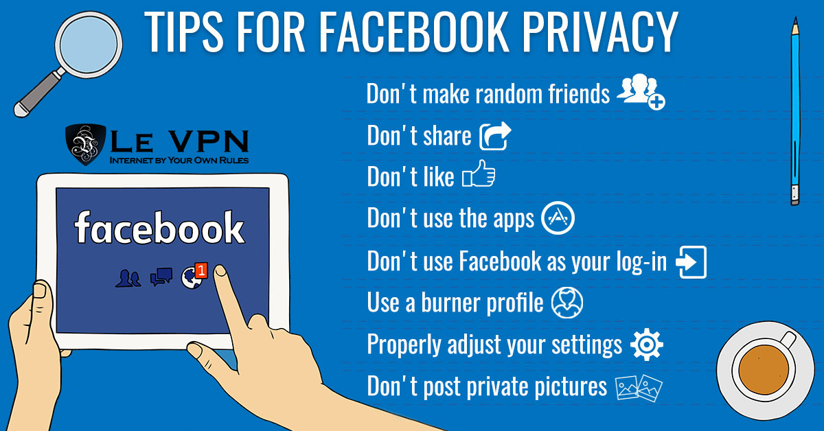 Social Media Security: Tips for a secure Facebook account | how to secure facebook account from hackers | tips for improving facebook account security | tips for facebook privacy | facebook privacy settings tips | important social media security tips | how to secure social media accounts | facebook privacy settings to change | how to improve facebook privacy | Le VPN