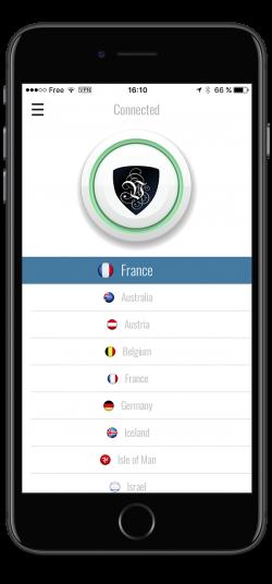 The Le VPN iPhone App