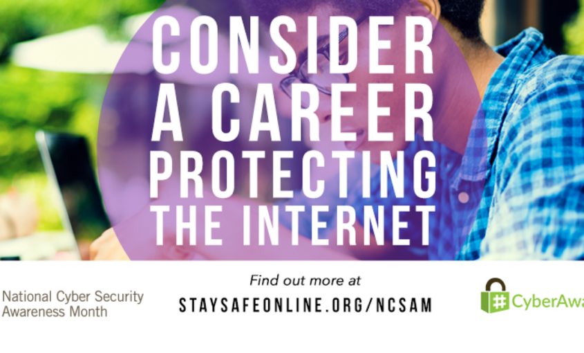 Cyber Security Awareness Month week 4 from October 23-27.
