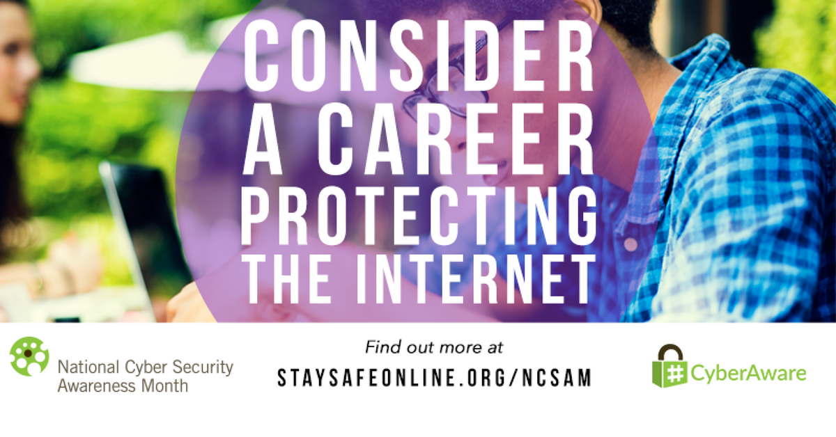 The Internet Wants YOU: Consider A Career In Cybersecurity
