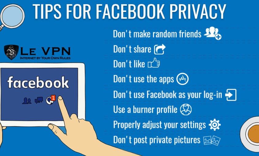Benefit from Facebook´s new feature anywhere with Le VPN.