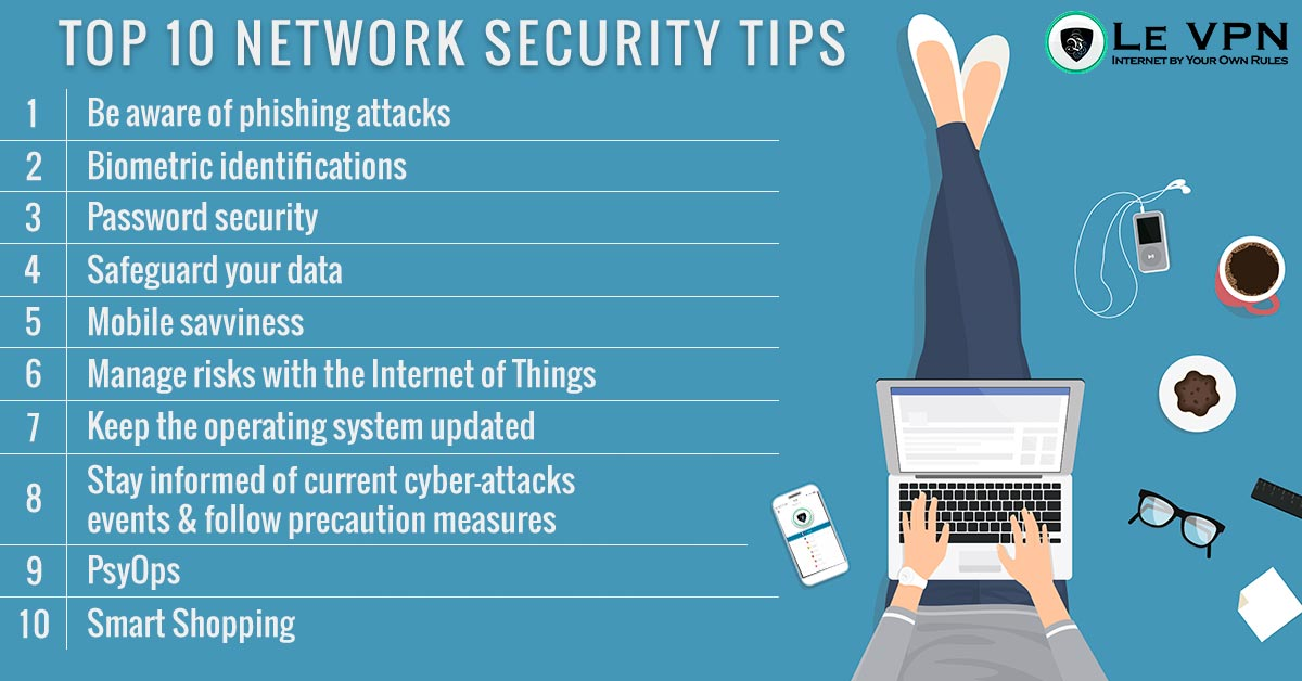Top 10 Network Security Tips for 2018