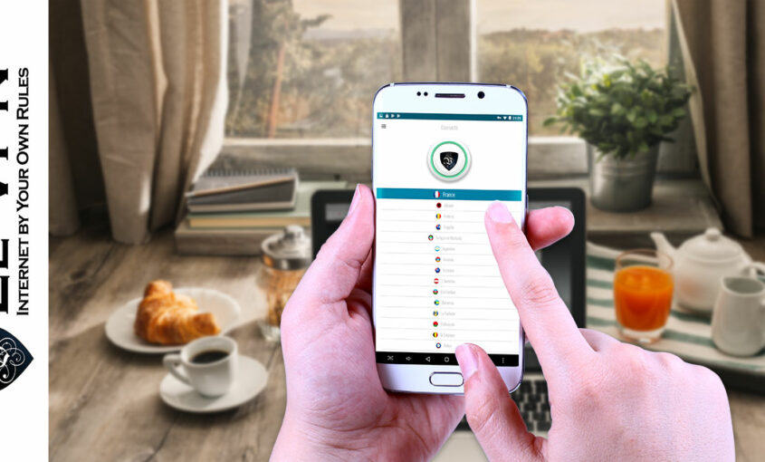 Le VPN's Android VPN over free VPN Android service. | Le VPN